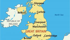 Map Of England with Major Cities Map Uk with Cities Sin Ridt org