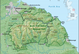 Map Of England with Rivers north York Moors Wikipedia