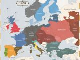 Map Of Enlightenment Europe Early Age Of Discovery Brief History Of the World Wiki