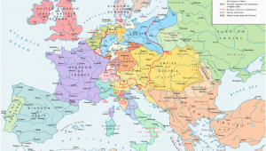 Map Of Europe 18th Century former Countries In Europe after 1815 Wikipedia