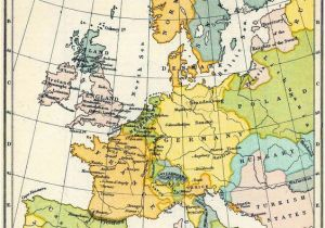 Map Of Europe 1923 Map Of Western Europe In the Time Of Elizabeth