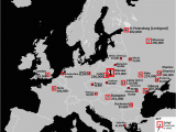 Map Of Europe 1939 with Cities Jewish Population In European Cities In 1939 1012 X 1022
