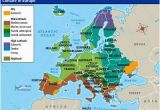 Map Of Europe 1980 Europe S Climate Maps and Landscapes Netherlands Facts