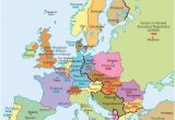 Map Of Europe after Ww2 A Map Of Europe During the Cold War You Can See the Dark