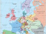 Map Of Europe after Wwii Europe In 1815 after the Congress Of Vienna