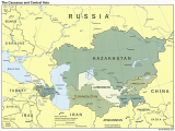 Map Of Europe and Central asia Aral Sea Central asia Map Human Migration Central asia