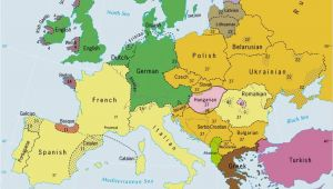 Map Of Europe and Italy Languages Of Europe Classification by Linguistic Family source