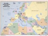 Map Of Europe and Middle East Countries Map Of Europe Middle East and north Africa Map Of Africa