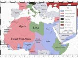 Map Of Europe and north Africa Ww2 north African Campaign Map Of north Africa and southern