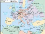 Map Of Europe and north Africa Ww2 Wwii Map Of Europe Worksheet