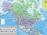 Map Of Europe and north America Eurasian north American Climate Counterparts Maps Data
