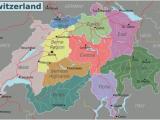 Map Of Europe and Switzerland Switzerland Travel Guide at Wikivoyage