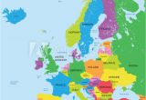Map Of Europe Baltic Sea Fotografie Obraz Political Map Of Europe High Detail