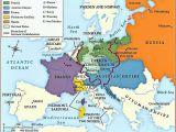 Map Of Europe before Congress Of Vienna Congress Of Vienna