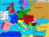 Map Of Europe before World War 1 World War One Map Fresh Map Of Europe In 1914 before the