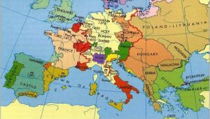 Map Of Europe During Middle Ages Europe In the Middle Ages Maps Map Historical Maps Old