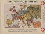 Map Of Europe During World War 1 Map Of Europe In 1914 Europeana Blog