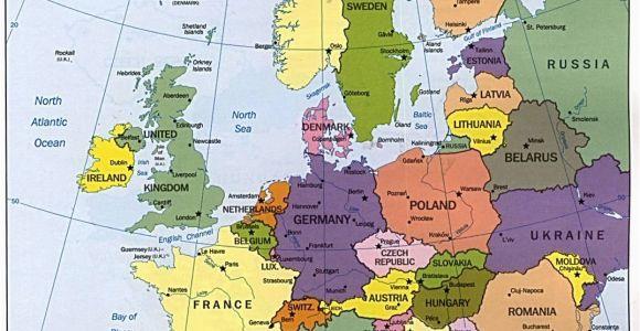 Map Of Europe England Map Of Europe Maps Kontinente Europe Reisen Und Europa