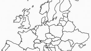 Map Of Europe for Kids Printable Blank Map Of Europe Printable Outline Map Of Europe