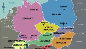 Map Of Europe Geneva Central Europe Wikitravel