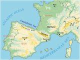 Map Of Europe Iberian Peninsula Cave Art4