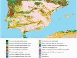 Map Of Europe Iberian Peninsula Land Cover Classification for the Iberian Peninsula Adapted