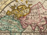 Map Of Europe In 18th Century Od World Map 1700 24 X 20 60 X 50cm Explorers Of 18th Century