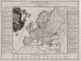 Map Of Europe In 18th Century the First attempt at Economic Mapping Rare Antique Maps