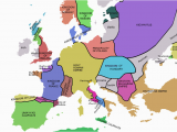 Map Of Europe In 1919 atlas Of European History Wikimedia Commons