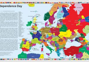 Map Of Europe In 1920 Independence Day What Europe Would Look if Separatist