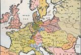 Map Of Europe In 19th Century Historical Map Europe Stock Photos Historical Map Europe
