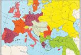 Map Of Europe In 19th Century Map Of Europe 1878 after Th Congress Of Berlin