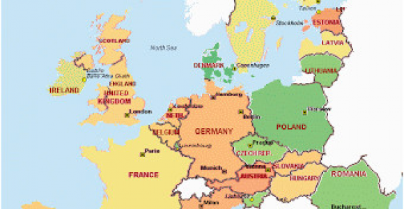 Map Of Europe In German Awesome Europe Maps Europe Maps Writing Has Been Updated