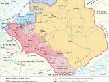 Map Of Europe In the 1400s Poland 1300s 1400s Poland and Lithuania Maps Poland