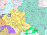 Map Of Europe Mid 18th Century Eastern Europe In Second Half Of the 17th Century Maps and