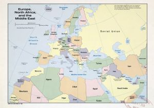 Map Of Europe Middle East and asia East World Maps