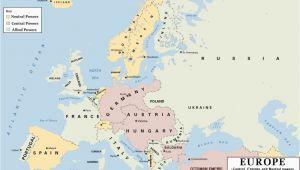 Map Of Europe Post Ww1 Map Of Europe Post Ww1 Climatejourney org