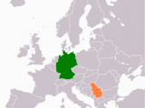 Map Of Europe Serbia Datei Germany Serbia Locator Png Wikipedia