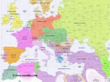 Map Of Europe Showing Major Cities Full Map Of Europe In Year 1900