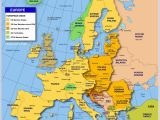 Map Of Europe Showing Slovenia Map Of Europe Member States Of the Eu Nations Online Project