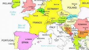 Map Of Europe Slovenia 36 Intelligible Blank Map Of Europe and Mediterranean