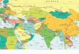 Map Of Europe Syria Eastern Europe and Middle East Partial Europe Middle East