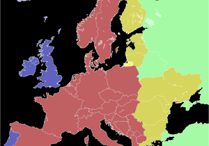 Map Of Europe Time Zones Central European Summer Time Wikipedia