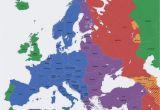 Map Of Europe Time Zones Europe Map Time Zones Utc Utc Wet Western European Time