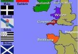 Map Of Europe Wales Map Of the Celtic Nations Of Europe Maps Celtic Nations