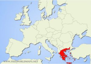 Map Of Europe with Greece 69 Comprehensible Map Of Greece In World Map