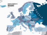 Map Of Europe with Russia Europe According to Russians Interesting Funny Maps Map