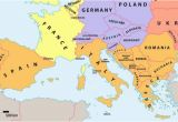 Map Of Europe with Seas which Countries Make Up southern Europe Worldatlas Com