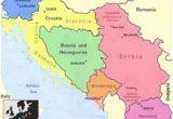 Map Of Europe Yugoslavia Yugoslavia