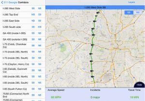 Map Of Fayetteville Georgia 511 Georgia atlanta Traffic On the App Store